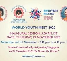 Παγκόσμια Συνάντηση Νέων | 19-21 Νοεμβρίου 2020