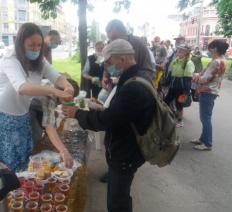 Отчет о служении в Киеве, июнь 2020 года